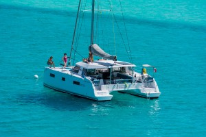 Catamaran Nautitech Open 40 coming to Trogir