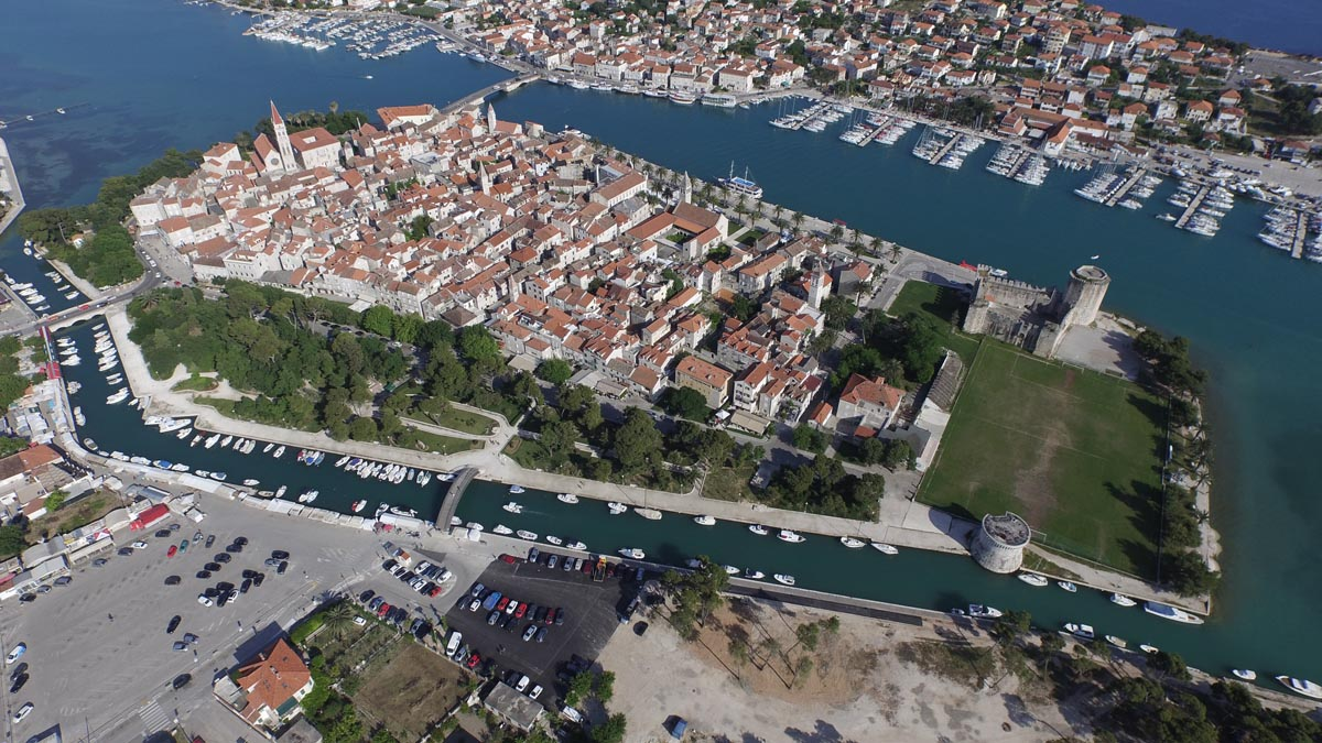 Croatia Sailing Destinations - Trogir