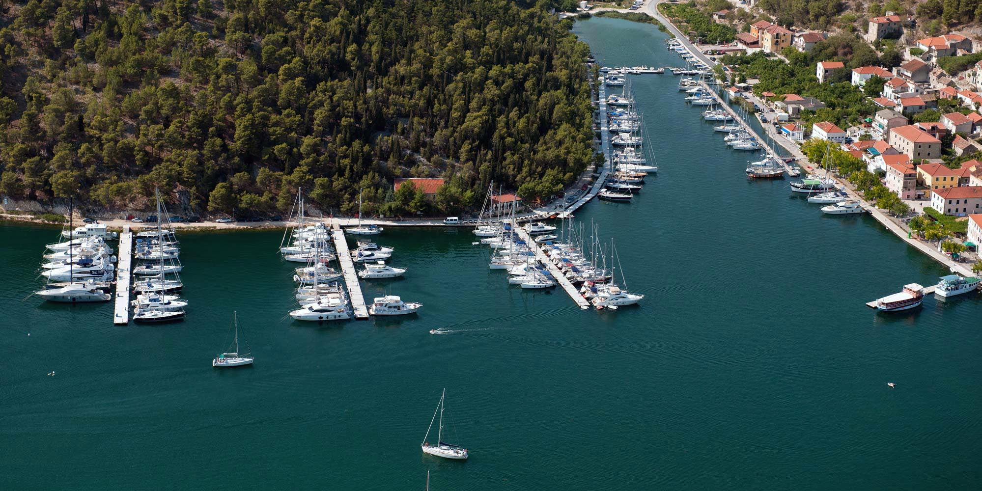 Croatia Sailing Destinations - Skradin