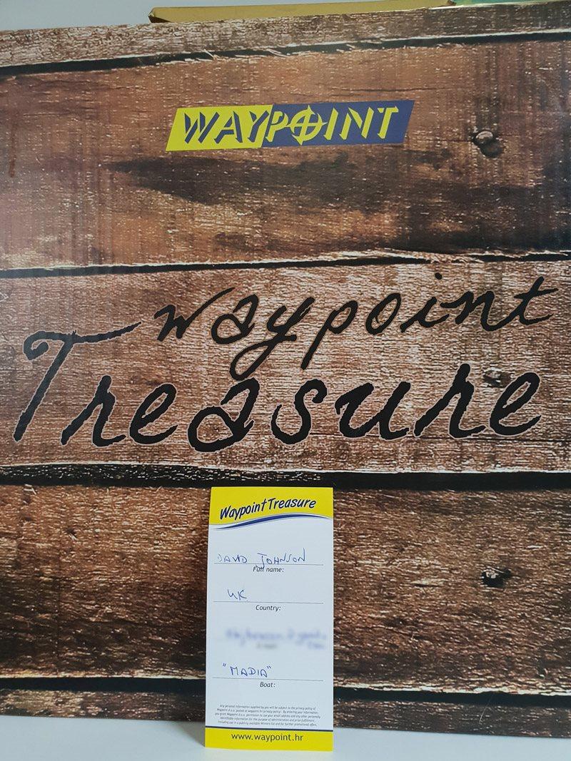 Waypoint treaure sweepstakes 2018