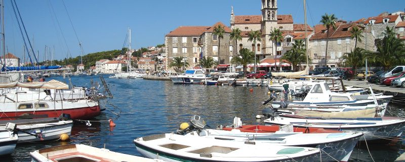 Croatia sailing destinations: Milna