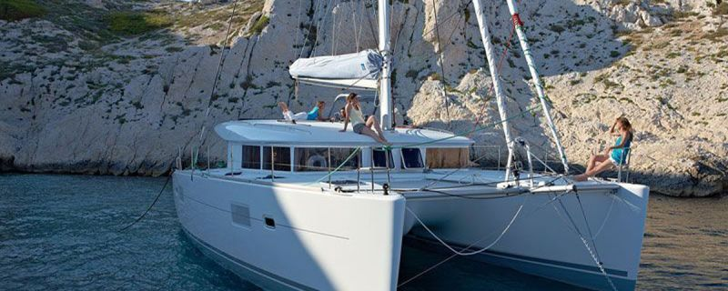 Lagoon 400 S2 – brand new catamaran in our Dubrovnik base