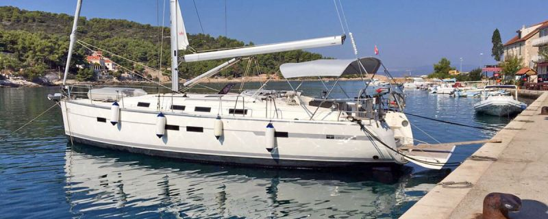 Bavaria Cruiser 45 owner version in ACI Dubrovnik