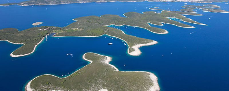 Croatia sailing destinations: Pakleni Islands