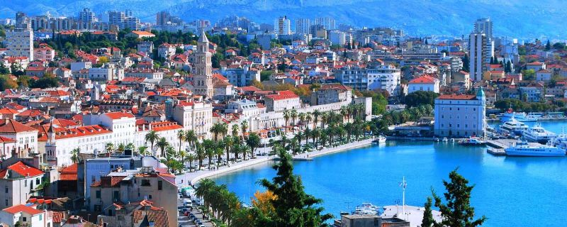 Croatia sailing destinations: Split