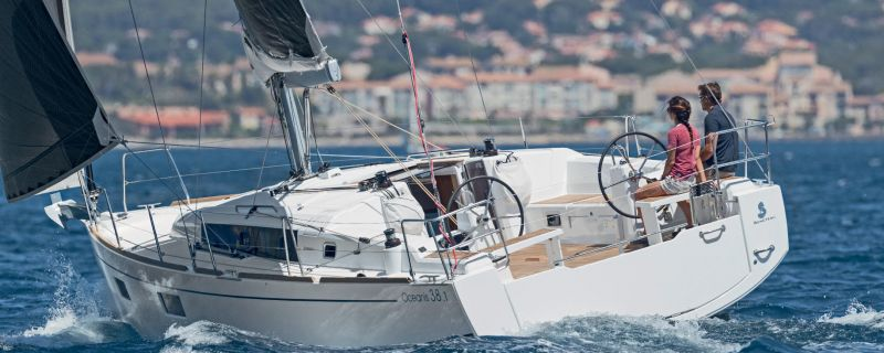 "Brand new Oceanis 38.1's ""Obsession"" and ""Pleasure"" in ACI Trogir"