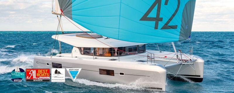Lagoon 42 (2018) ready for new charter season in Trogir