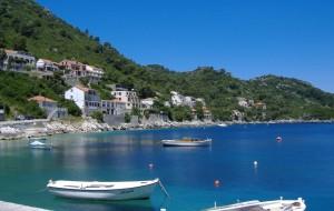 Sailing destination in Croatia
