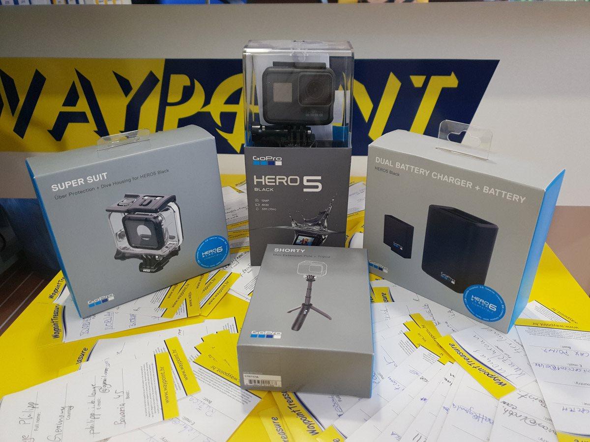 Waypoint treasure – GoPro Hero5 Action Camera